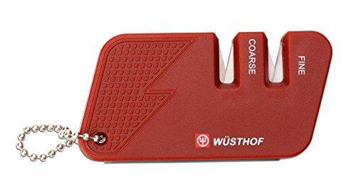 Wusthof WT4342R New Affilacoltelli Compatto, Colore: Rosso