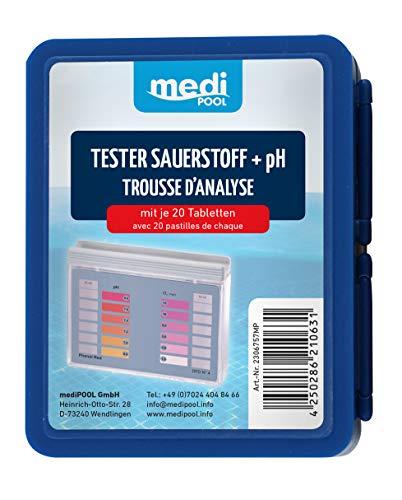 Medipool Schwimmbadpflege Sauerstoff/pH-Tester