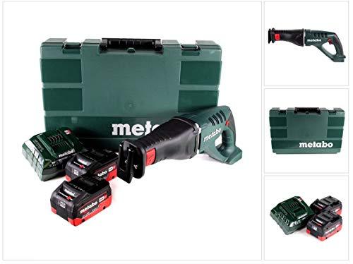 Metabo 602269660 Akku-Säbelsäge 18V / 2X LiHD 5,5 Ah Li-Ion ASE 18 LTX im Koffer