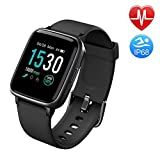 Duang Smartwatch, Bluetooth Fitnessuhr Damen Fitness Tracker Herren, 1,3-Zoll-Farbbildschirm...
