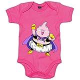Body bebé parodia kawaii monstruo Buu gordo Majin Boo - Rosa, 6-12 meses