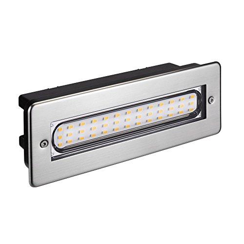 luz LED para escaleras luz de pared empotrada para el exterior angular...