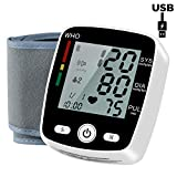 Best Blood Pressure Wrist Cuffs - Automatic Wrist Blood Pressure Monitor with USB Charging Review