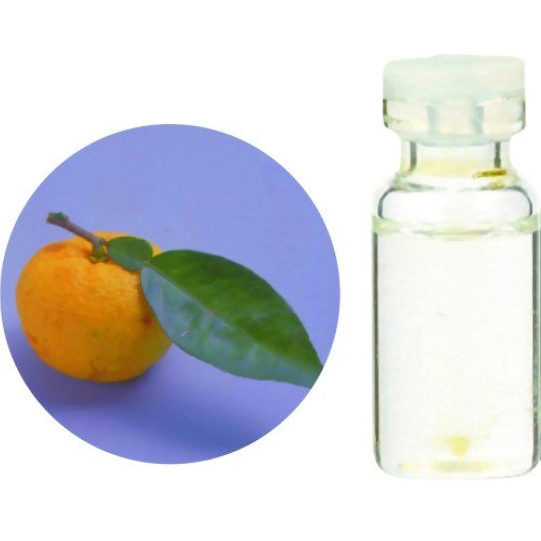 取るに足らない複雑でない溶かす生活の木 Herbal Life 和精油 柚子(ゆず)(水蒸気蒸留法) 3ml