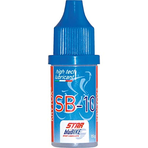 STARBLU Unisex-Adult Star BluBike Kritox SB10 Schmiermittel Öle, Transparent (Transparent), 15 ML