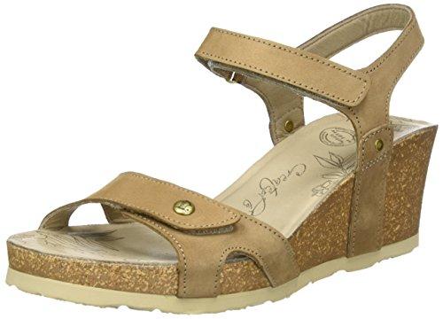 Panama Jack Julia Basics Open sandalen met wighak