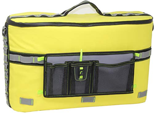 Skywin Kayak Cooler - Waterproof Cooler for Kayaking Compatible with Lawn-Chair Style Seats, Kayaking Accessories Stores Drinks and Keeps Them Cool All Day (Yellow)