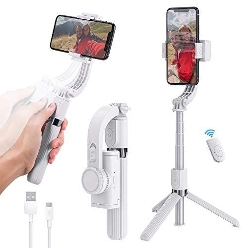 YOUKUKE Palo Selfie Trípode, 3 en 1 Selfie Stick Móvil con Control Remoto, Extensible 360° Rotación Trípode para Gopro, Mini Cámara, Celular Android iOS