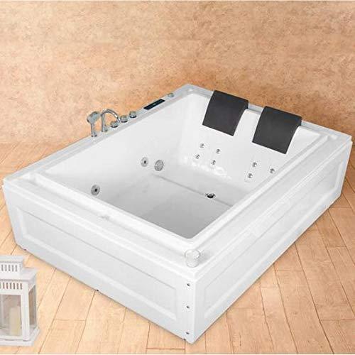 Baño Italia bañera de hidromasaje 190 x 147 cm dos plazas con cromoterapia radio 14 chorros