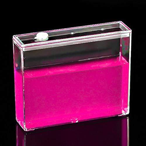 Jlxl Nido De Hormigas Living Villa Niños Ecológicas DIY Castillo De La Granja Fácil De Instalar Ant House Juguetes Educativos Acrílico (Color : Pink)