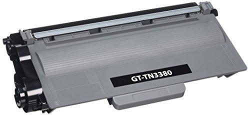 Cartuchos de tóner láser Brother TN3380 para Brother DCP-8250DN HL-6180DW MFC-8950DWT DCP-8110DN HL-5440D HL-5450DNT HL-5470DW MFC-8510DN MFC-8520DN, color negro (alta capacidad, 8000 páginas, 5% de cobertura)