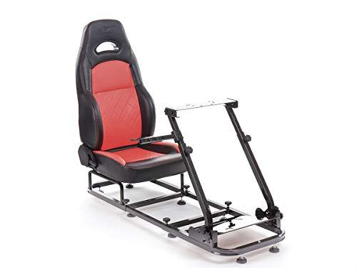 FK Gamesitz Spielsitz Rennsimulator eGaming Seats Silverstone schwarz/rot