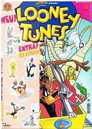Bugs Bunny präsentiert: Looney Tunes Magazin Nr. 8/99, komplett mit Sticker + Poster Dino Comics, Comic-Magazin, ERSTAUSGABE