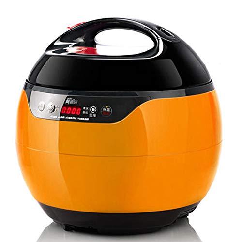 Elektrische snelkookpan, 4L multifunctionele huishoudelijke elektrische snelkookpan, rijst fornuizen 2-5 personen, anti-aanbaklaag, een 24-uurs timer, (220V)