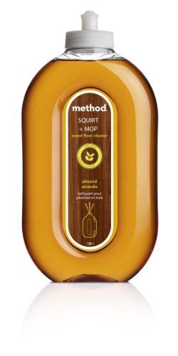 method - Nettoyant Parquets sans Eau - Parfum Amande - 739 ml - Lot de 2