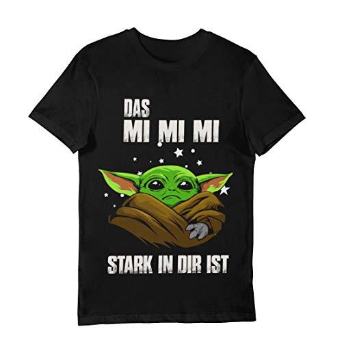 Yoda T-Shirt Mimimi schwarz (4XL)