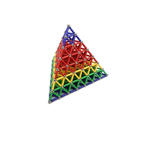 GGOOD 157pcs Magnética Bloques Huecos Azulejos Niños Creatividad Educación Muchacho De 5 Años Regalos para Los Niños