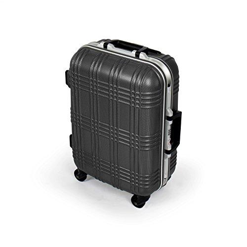 MasterGear Maleta de Viaje – Maleta de Cabina ABS con Cremallera - 4 ruedas (360 grados) - Para Equipaje de Mano - Maleta Rígida – Compatible con Numerosas Compañías Aéreas