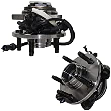 Detroit Axle - 4WD Front Wheel Hub and Bearing Assembly Replacement for 1998-2000 Ford Ranger Mazda B4000 5 Lug Pulse Vacuum Lock Hub w/4-Wheel ABS - 2pc Set