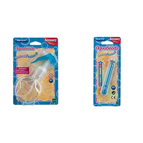 Aquabeads 30508 Sprühflasche Bastelzubehör & 31338 Perlenstift Bastelzubehör