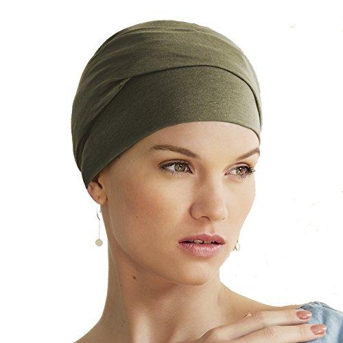 Gorro Molli para quimioterapia 100/% algod/ón color azul p/úrpura