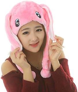 GulfDealz Unisex Cute Soft Winter Fashionable & Warm Animal Ear Cap, Halloween and Carnival Cosplay Comfortable Ear flap H...