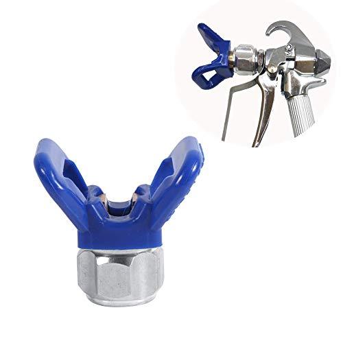Airless pistola pintura alta presión Boquilla de pulverización sin aire pistola Filtro Sprayer Guns Blue Guard Boquilla Herramienta de reemplazo de asiento