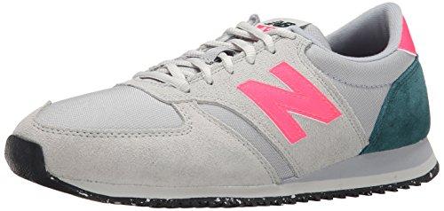 New Balance Damen WL420 B Sneakers, Grau (coe Grey/pink), 38 EU