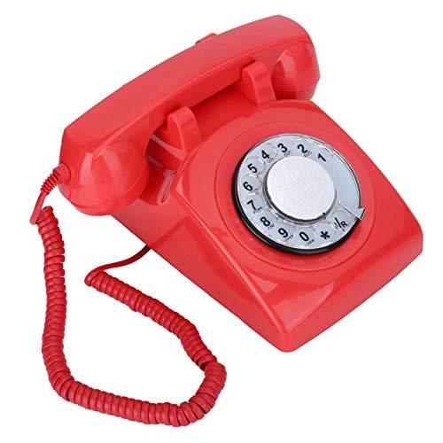 Weikeya Kabelgebunden Telefon, mit Abs Erweiterbar Schnurlos Telefon Pro Büro Zuhause Schlafzimmer