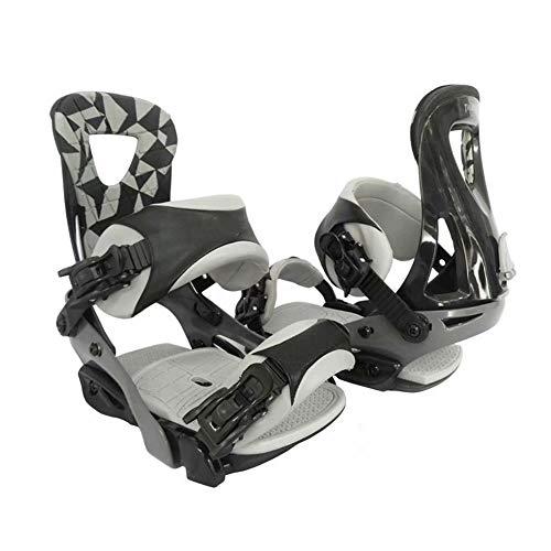 LP-LLL Zapatos de esquí Ajustables para Exteriores - Senderismo Raquetas de Nieve Zapatos de Nieve Patines de esquí para Hombres y Mujeres, Mini Patines de esquí Equipo de esquí (Gris Oscuro)