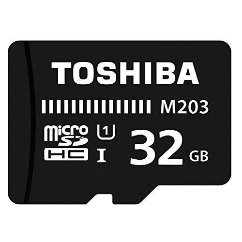 Toshiba M203 32GB Class 10 Micro SD Memory Card (THN-M203K0320A4)