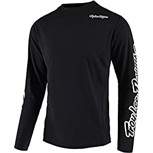 Cycling Jerseys Troy Lee Designs Sprint LS Jersey Men black 2020 Bike Jersey Longsleeve
