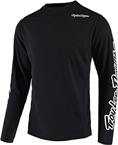 Cycling Jerseys Troy Lee Designs Sprint LS Jersey Men black 2020 Bike Jersey Longsleeve