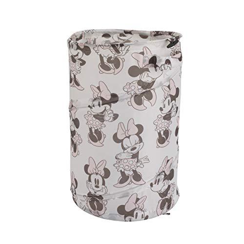 Disney Minnie Mouse Hamper - Pink/White/Grey