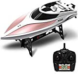 RC Boat,KINGBOT Remote Control High Speed Water Racing Boat, Perfect Toy Swimming Pool