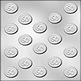 CK Products 1-1/4-Inch 60 Mint Chocolate Mold