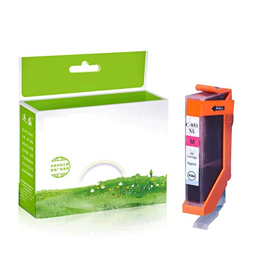 TEZAI Gran Capacidad Adecuada para el Cartucho de Tinta Canon 850 MG6380 7580 7180 5680 IP8780 7280 5480 Red