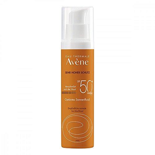 AVENE SunSitive Sonnenfluid SPF 50+ getönt 50 ml