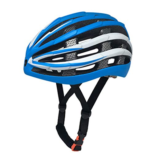 Fahrradhelm Fahrradhelm Erwachsene Equipment Helm Zertifizierter Helm, 123, blau, L(58