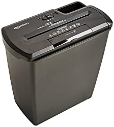 AmazonBasics 8-Sheet Strip-Cut Paper Shredder, Best Paper Shredder Reviews, Paper Shredders, Home Security, Identity Theft