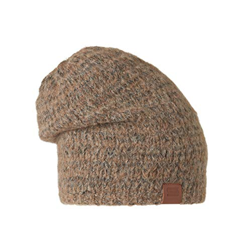 Stöhr Mütze Rim Braun