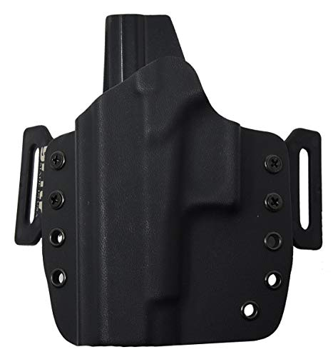 GRITR Holsters for Glck 48/43X - OWB Holster - Outside The Waistband, Made in USA,KYDEX, Left Hand
