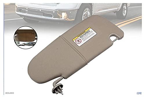 Prospective New-Sun Visor Front Front Off Driver Side Tan Sun Visor Fit para Dodge Ram 1500 2500 3500 1CT11BD1AA