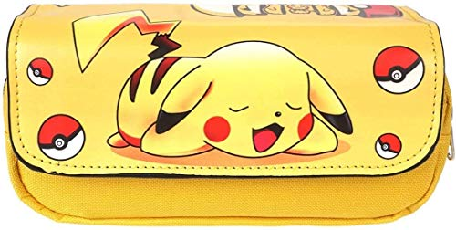 Estuches Material escolar Portatodo doble Pokemon...