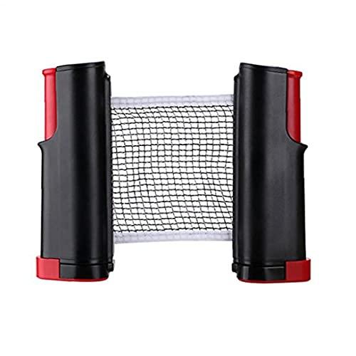 Tragbare Ping Pong Net, Retractable Tischtennisnetz Bracket Klemmen Für Indoor Outdoor Ping Pong Zubehör Spielzubehör