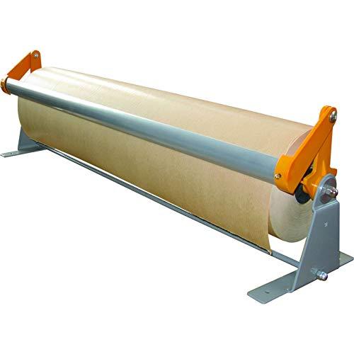 KK Verpackungen® Packpapier-Abroller für 500 mm Rollenbreite | Tisch-Abroller für Geschenkpapier mit Standfüßen & Abrissschienen