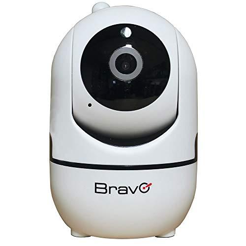 Bravo Nanà Pro Telecamera IP Camera Videosorveglianza Notturna WiFi FullHD 1080p 360° App Gratis - 92902926