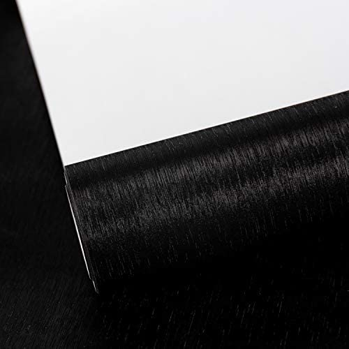 WRAPAHOLIC Wrapping Paper Roll Black with Metallic Shine for Birthday Holiday Wedding Baby Shower product image
