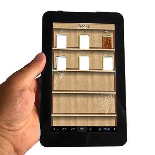 VCX 7 Pulgadas de Pantalla LCD Lector de Libros electrónicos de visualización WiFi Reproductores Digitales Seguros for el Ojo Inteligente de Alta definición con Multi-Idioma Global Ayuda SD: Amazon.es: Juguetes y juegos