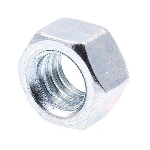 Prime-Line 9073449 Finished Hex Nuts, 3/8 in.-16, A563 Grade A Zinc Plated Steel, 50-Pack
